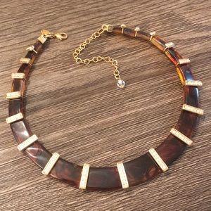Lia Sophia Kiam Family Tortoise Shell Collar